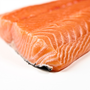 Fresh Salmon (Food that Sparta the Cat will eat).