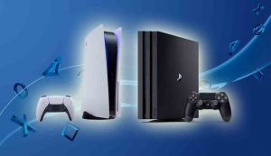 PS5 to PS4 Size Comparison